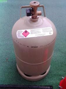 Gasflasche 5 kg für Gasgrills