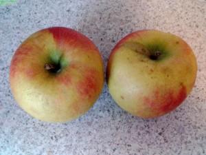 Äpfel lassen sich gut grillen
