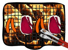 Direktes Grillen Gasgrill Illustration