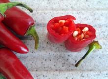 Chili als Zutat für Marinade
