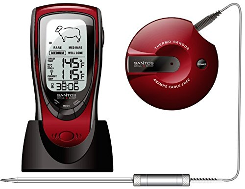 Santos Barbeque Funk-Grillthermometer